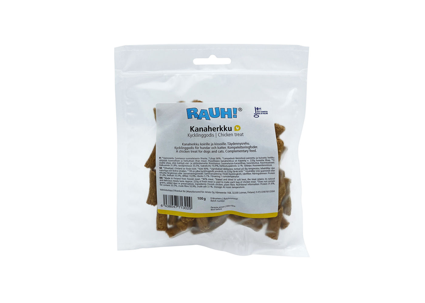 RAUH Chicken Treat 100 g
